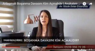 Anlaşmalı Boşanma Davasını Kim Açmalıdır | Avukatım Anlatıyor